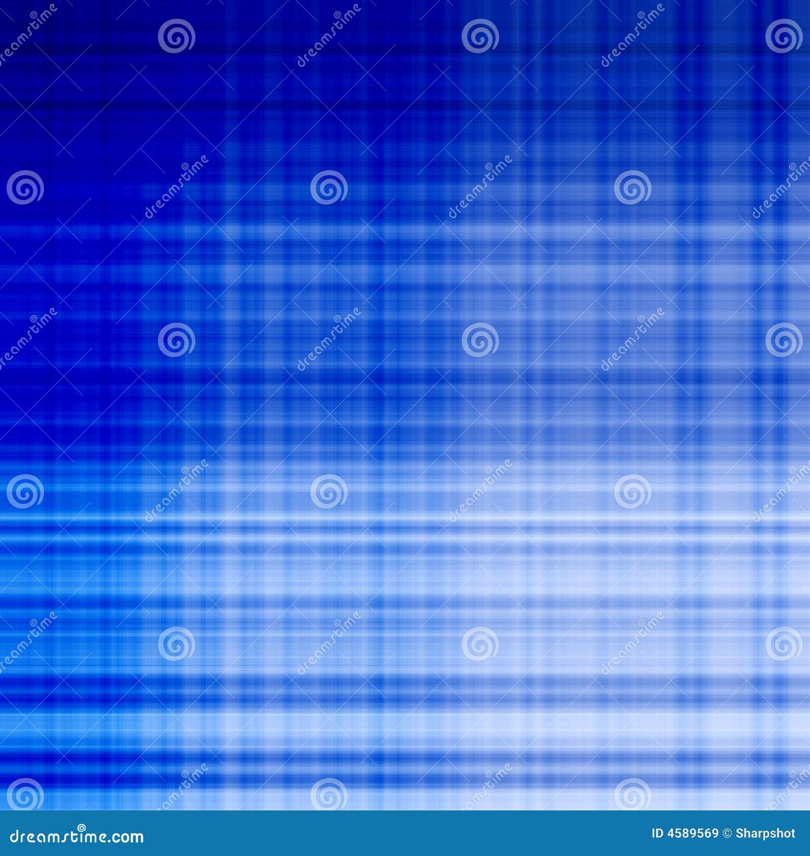Blaue Gitterlinie Muster