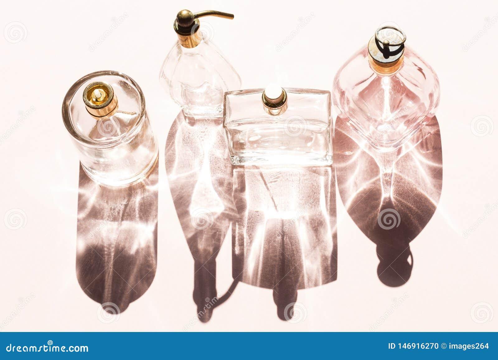 Blaue GlasParf?mflaschen