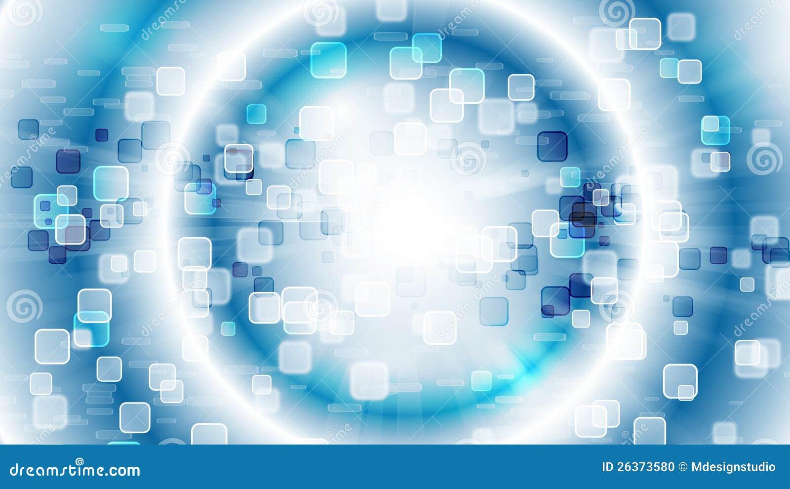 Blaue HD Abstrakte Tapete Stockfoto - Bild: 26373580