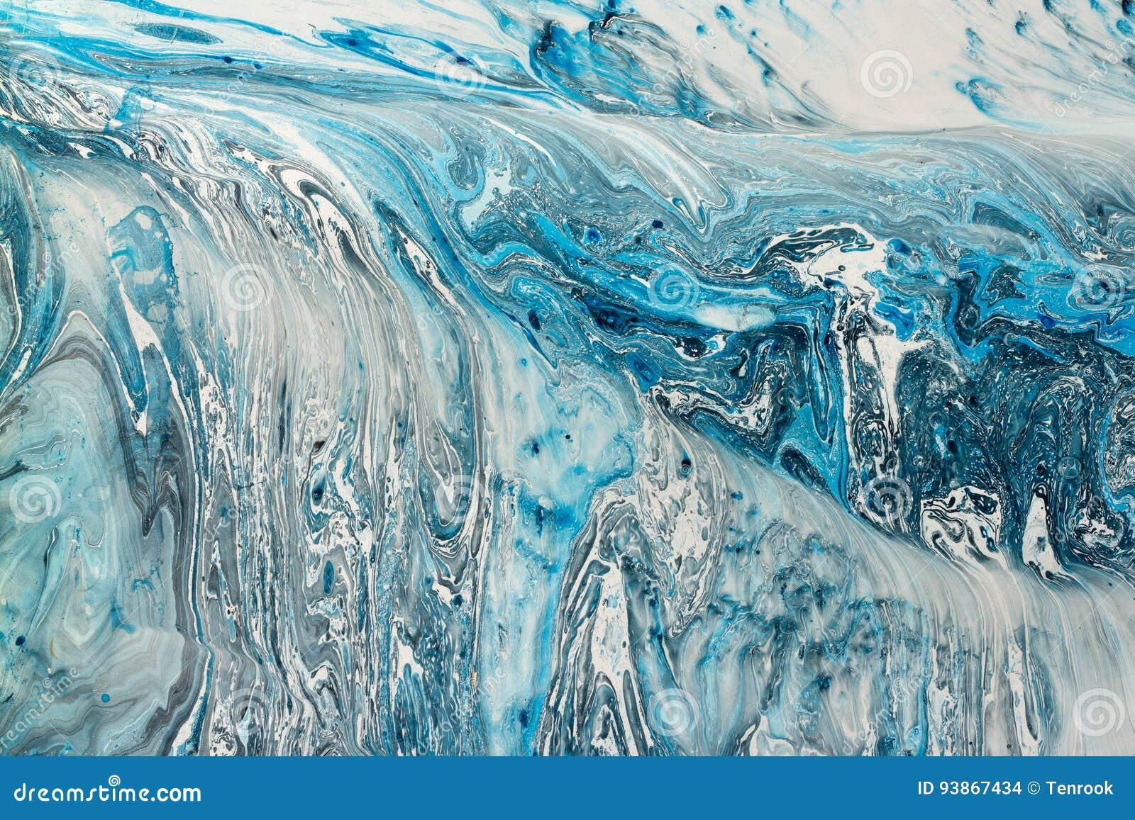 gesichts fluid, das sich bewegt