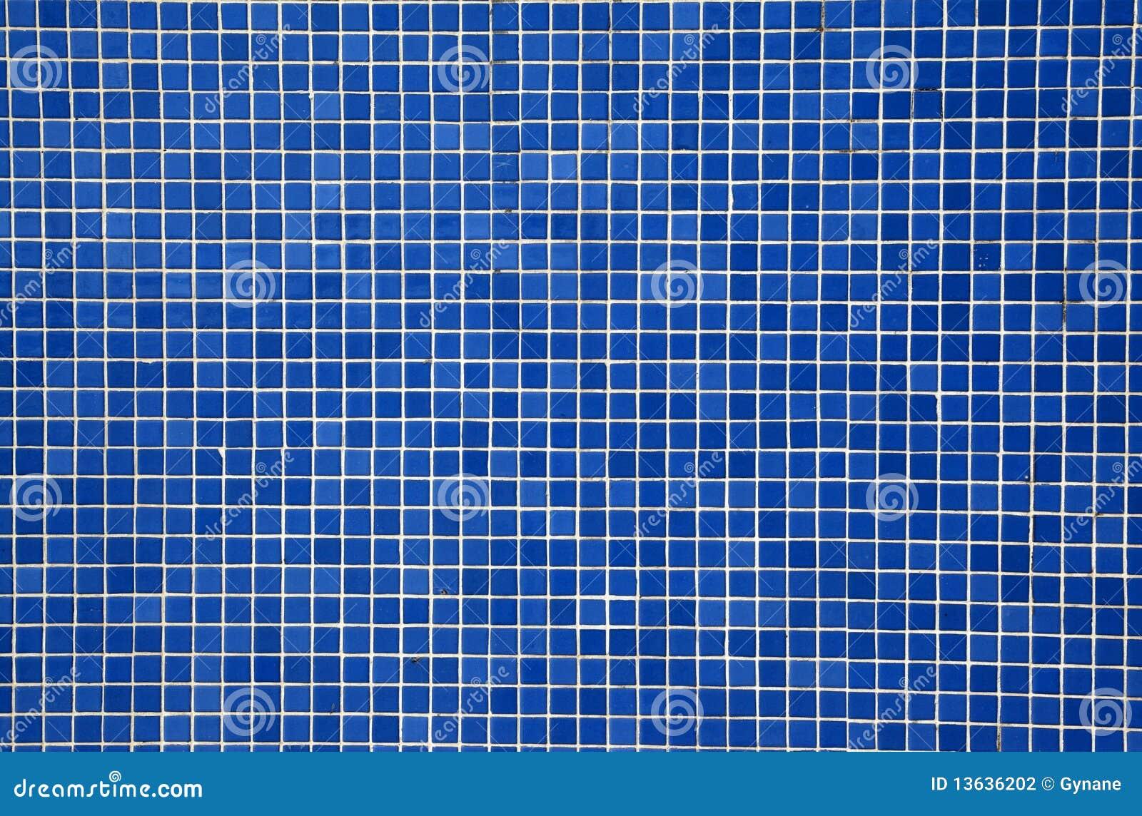 Blaue Mosaikfliesen Stockfotografie - Bild: 13636202