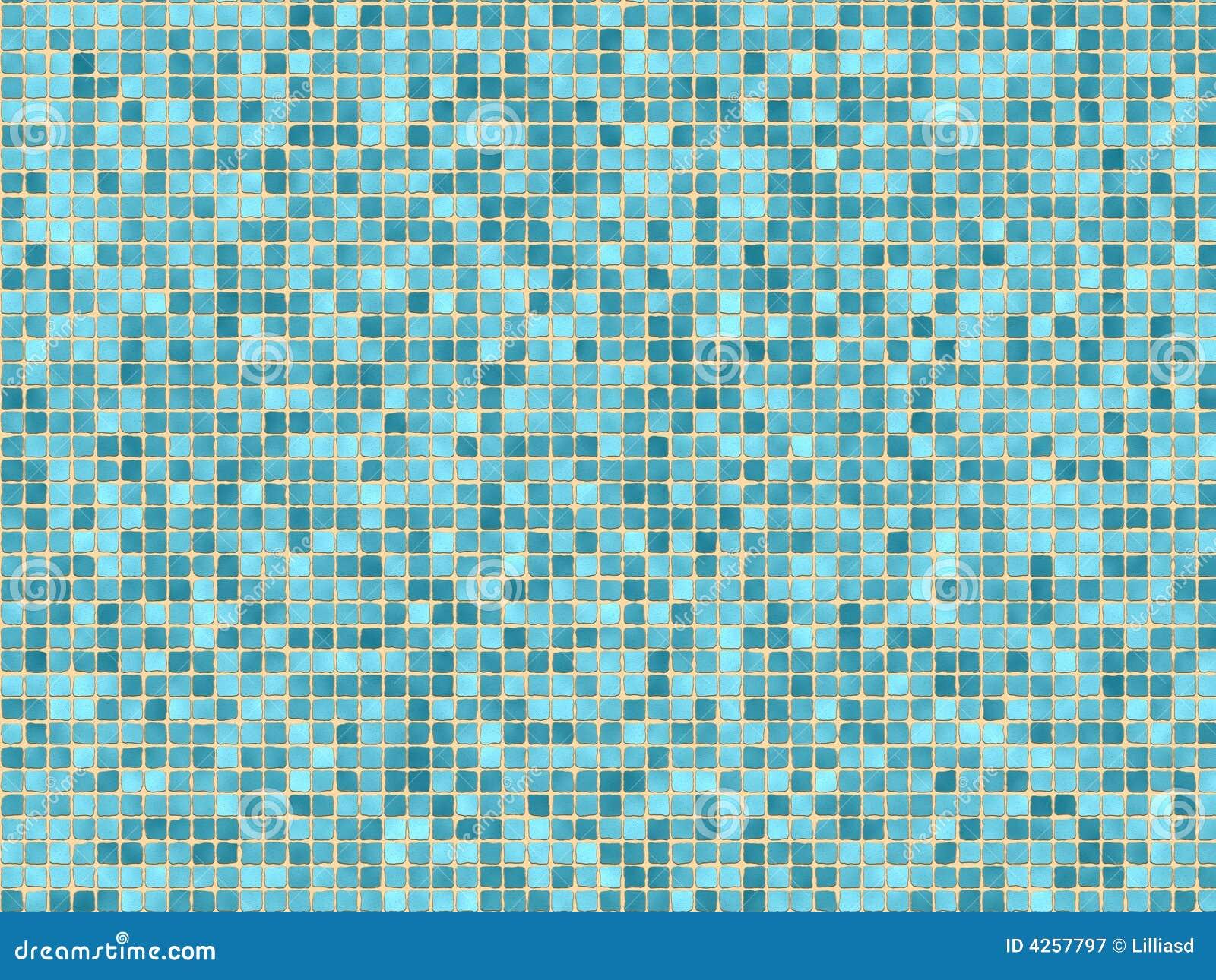 Blaue Mosaikfliesen Lizenzfreie Stockfotografie - Bild ...