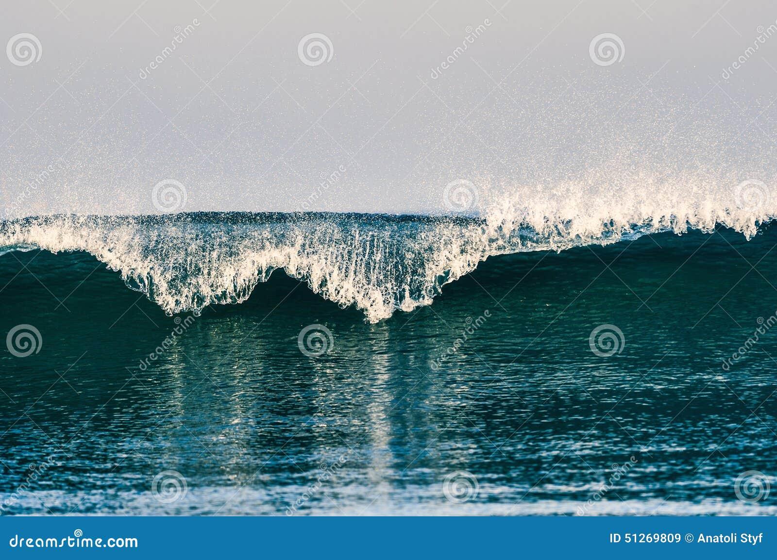 Blaue Ozean-Welle