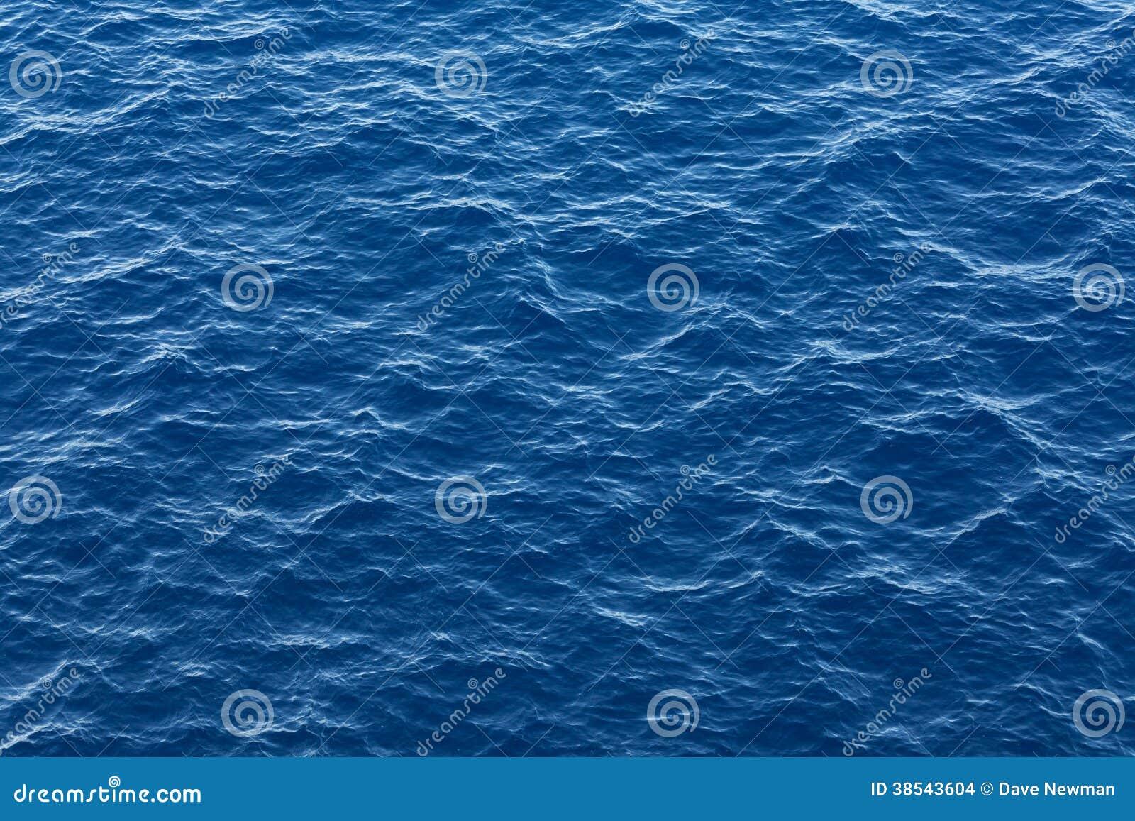 Blaue Ozeanwasserbeschaffenheit