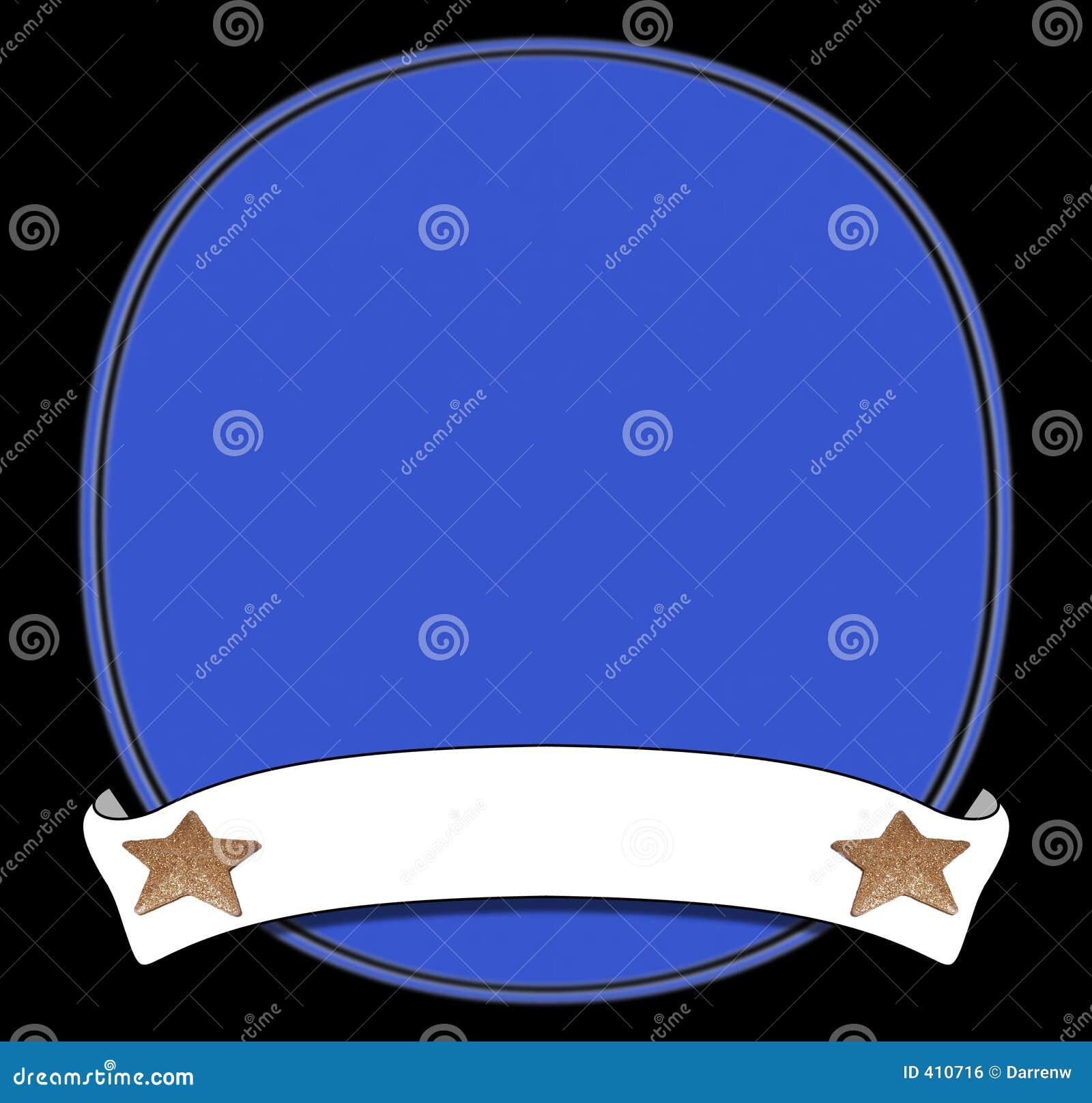 Blaue Plakettenrolle