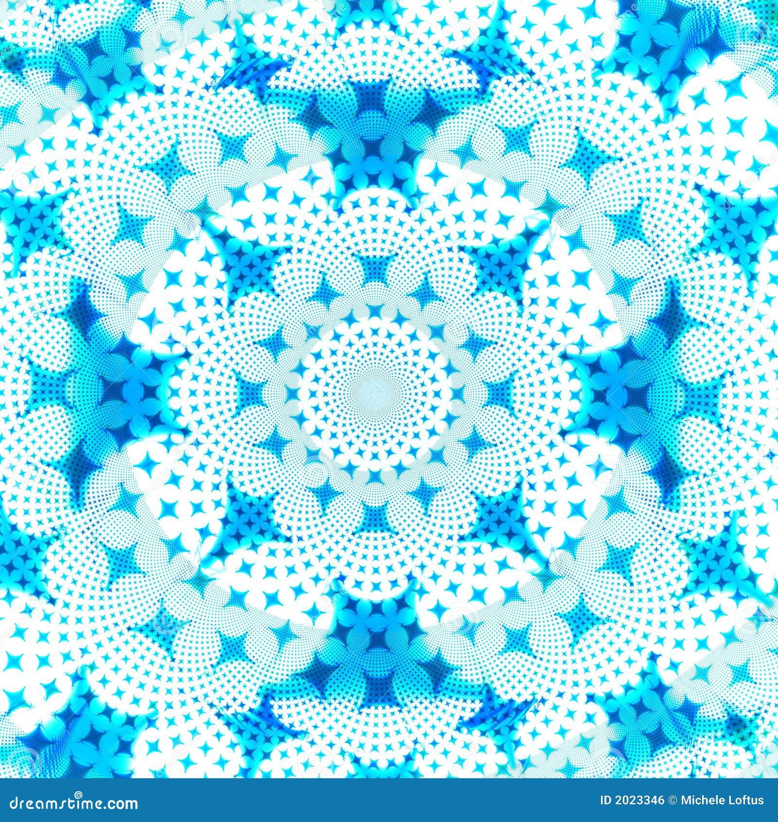 Blaue und weiße Stern-Auszugs-Hintergrund-Auslegung-Schablone