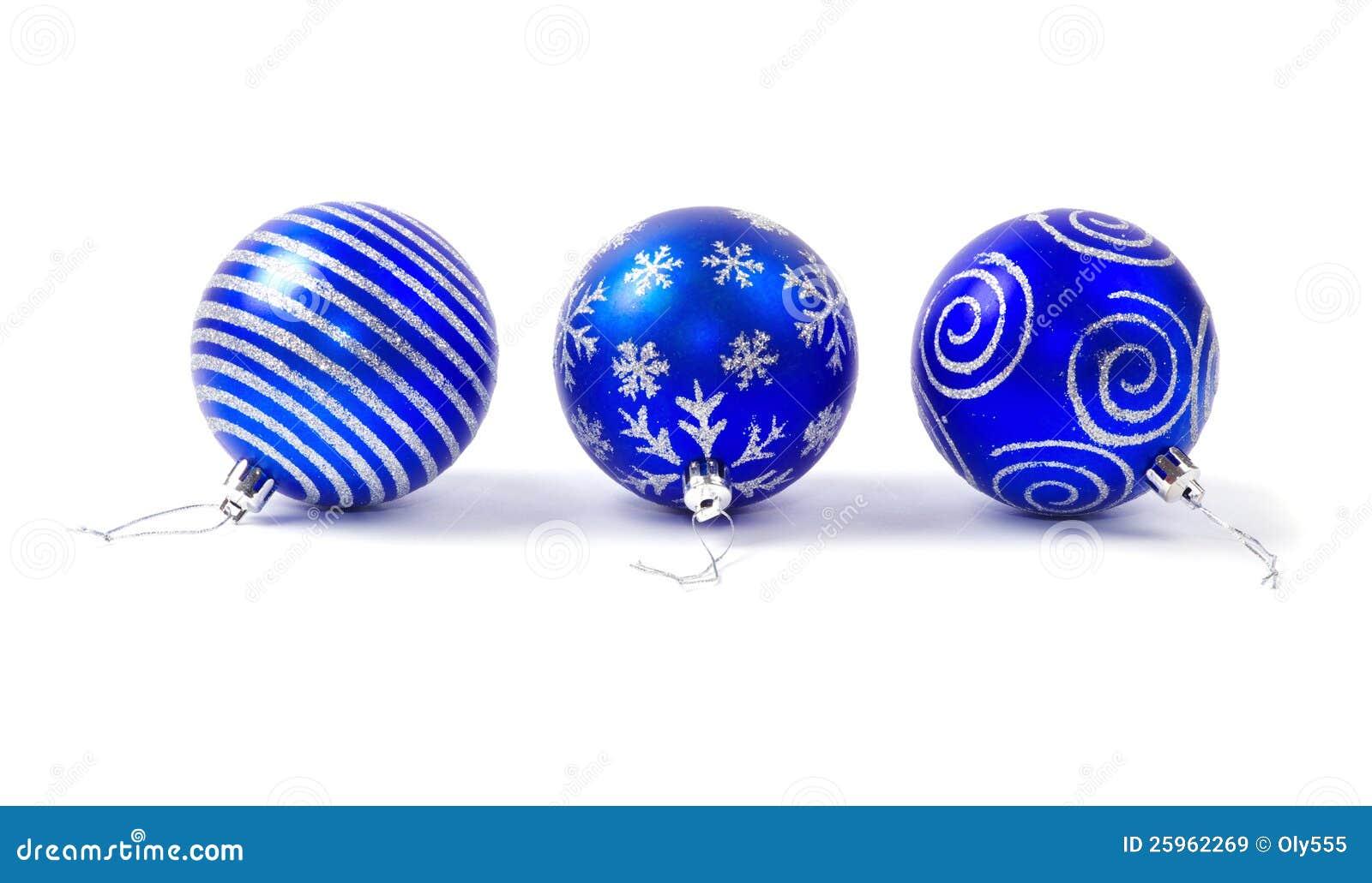 Blaue weihnachtskugeln lizenzfreie stockbilder bild for Weihnachtskugeln bilder