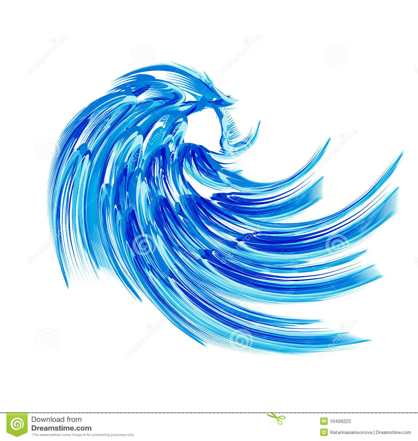 blaue welle stock abbildung bild von symbolisch  wei u00df wave clipart hand wave clip art images