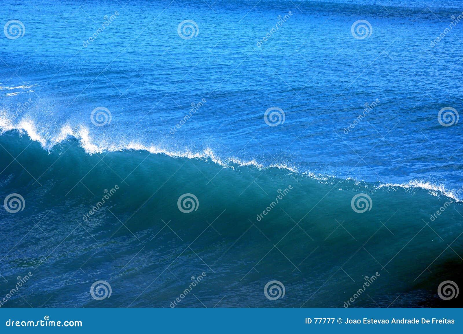 Blaue Welle