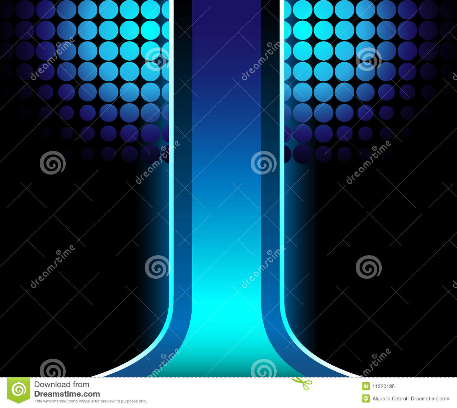 Blauer abstrakter Hintergrund