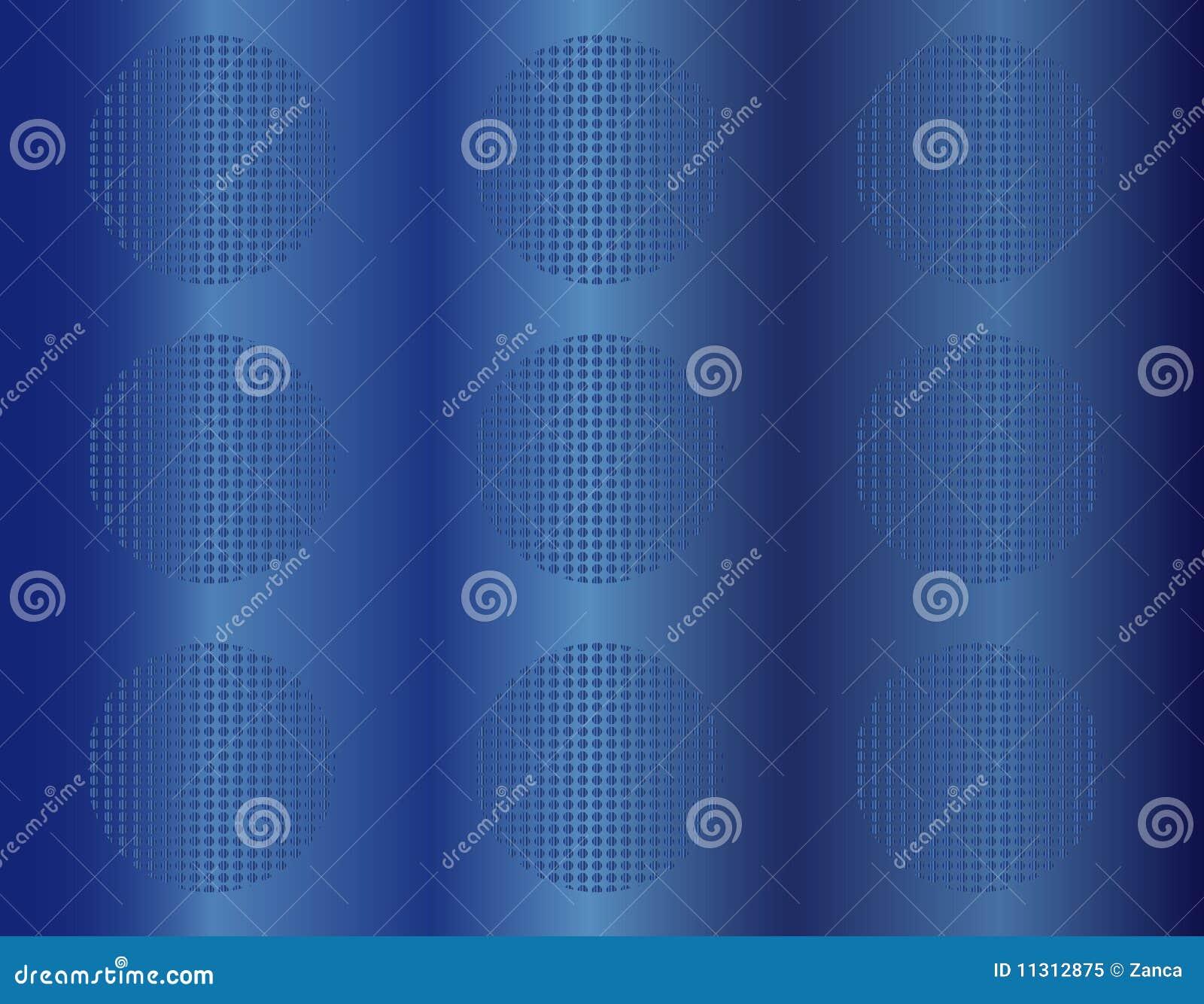 Blauer abstrakter Hintergrund 3D