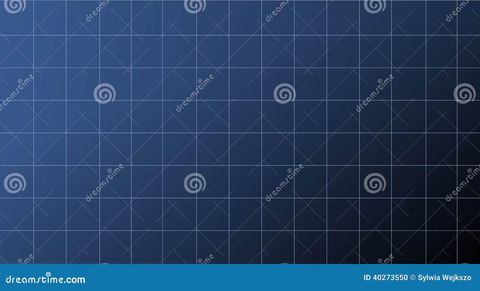 Blauer abstrakter Nettohintergrund für technische Diagramme