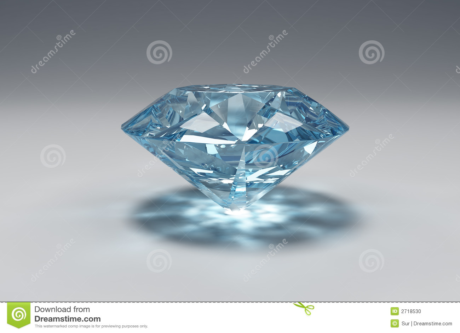 blauer diamant stockfoto bild 2718530. Black Bedroom Furniture Sets. Home Design Ideas