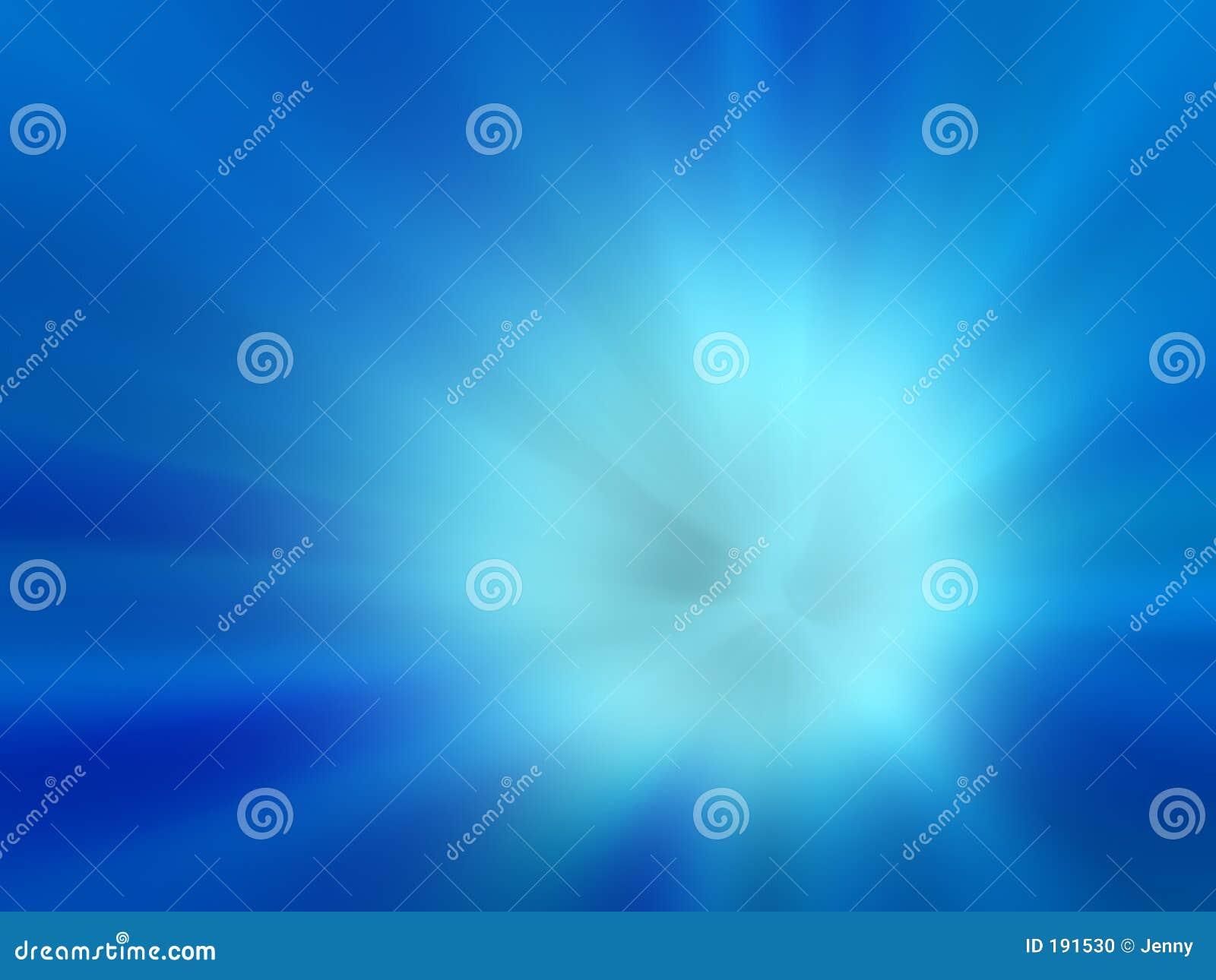 Blauer Explosionshintergrund