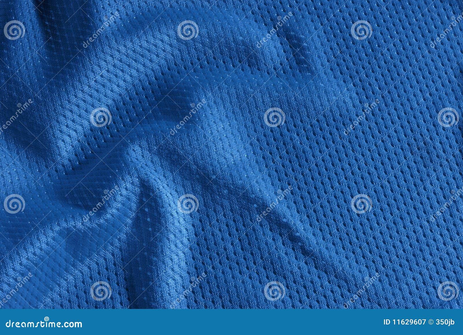 Blauer Fußball Jersey