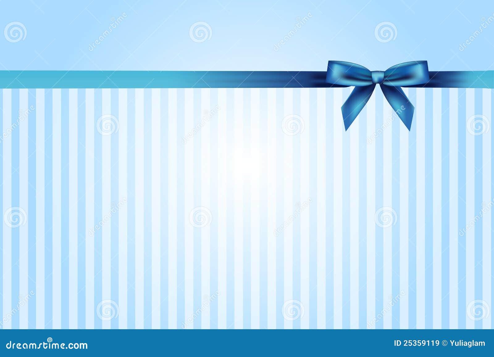 Blauer Hintergrund mit Bogen