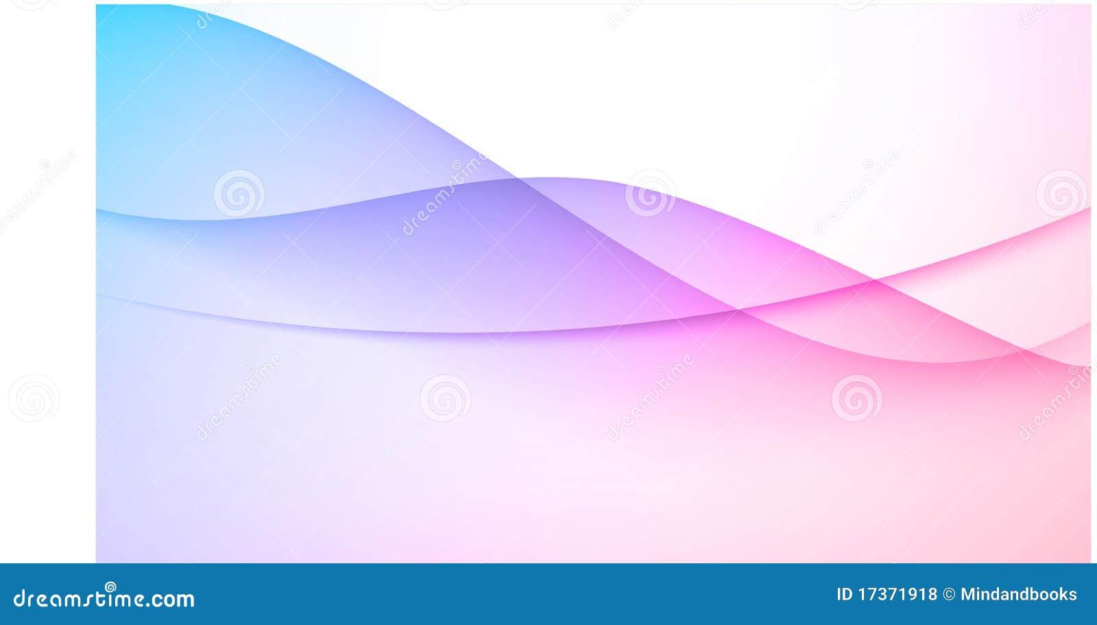 Blauer rosafarbener abstrakter Hintergrund