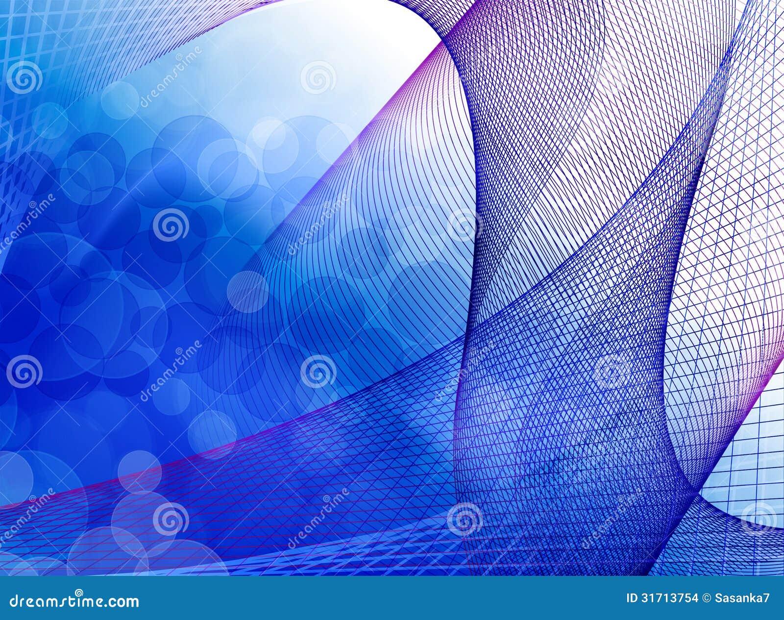 blauer spektrumhintergrund stock abbildung illustration von wellen 31713754. Black Bedroom Furniture Sets. Home Design Ideas