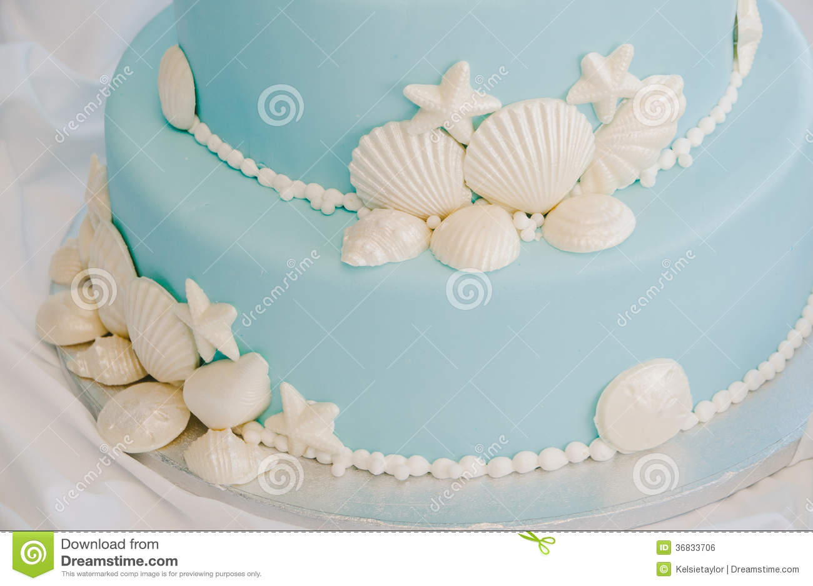 Edible Beach Cake Decorations