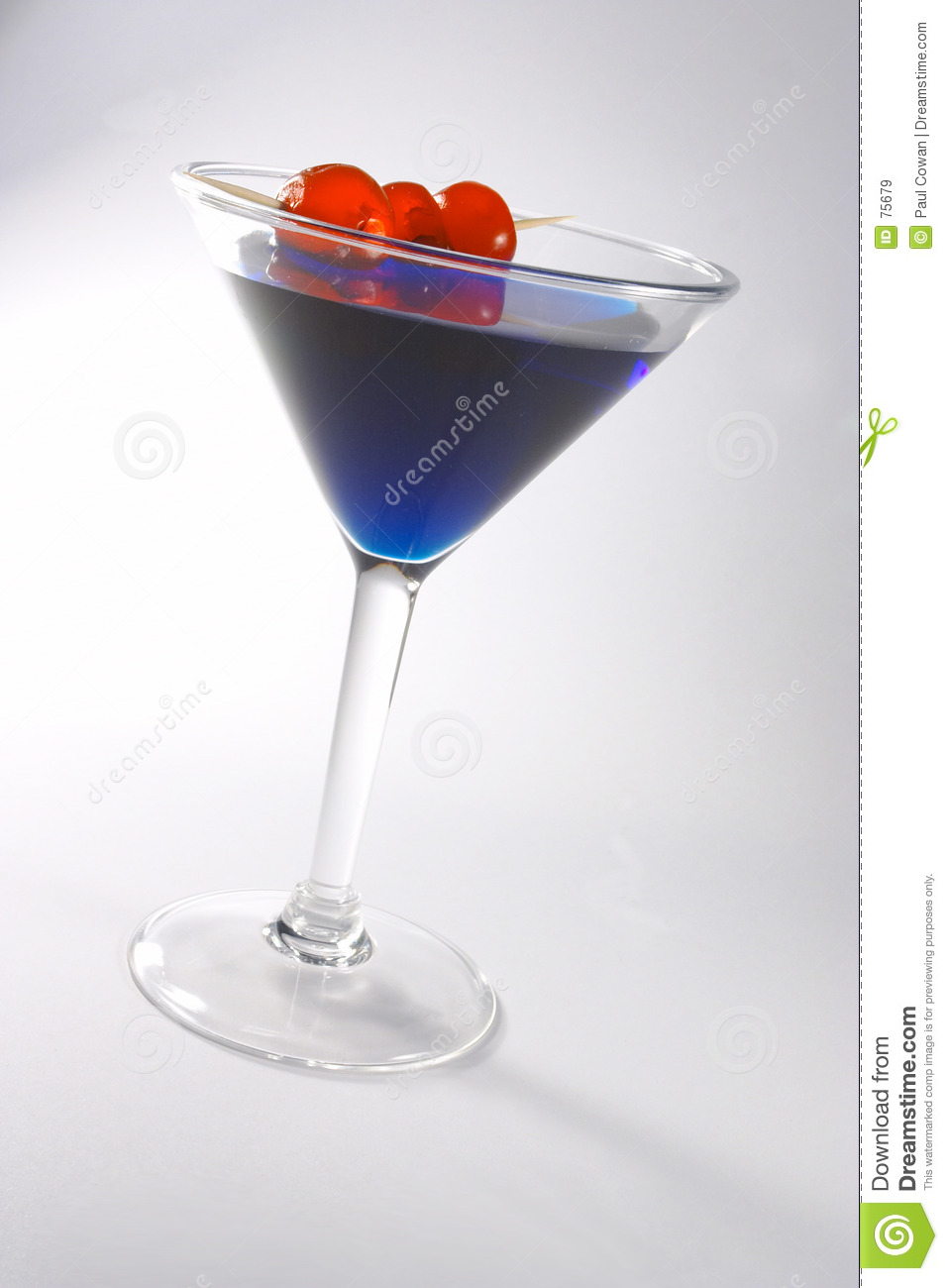 Blaues Cocktail 2
