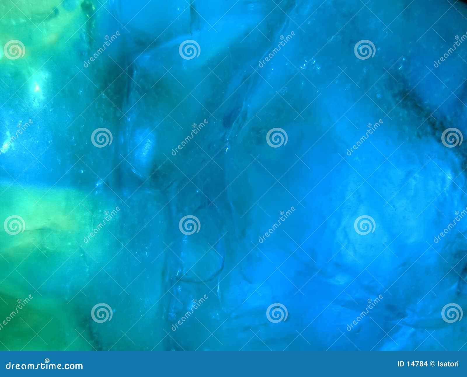 Blaues Eis-Detail
