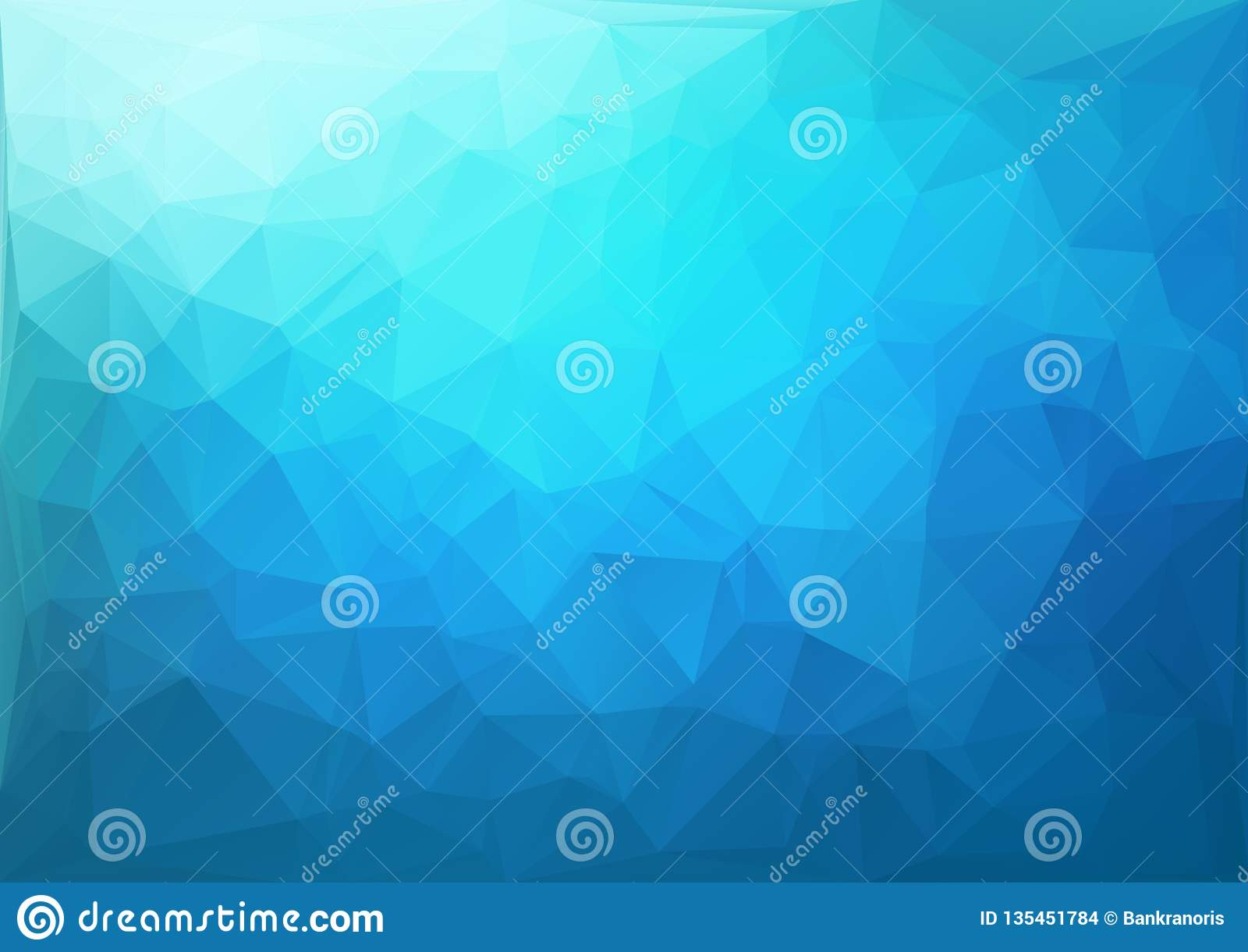 Blaues geometrisches Muster