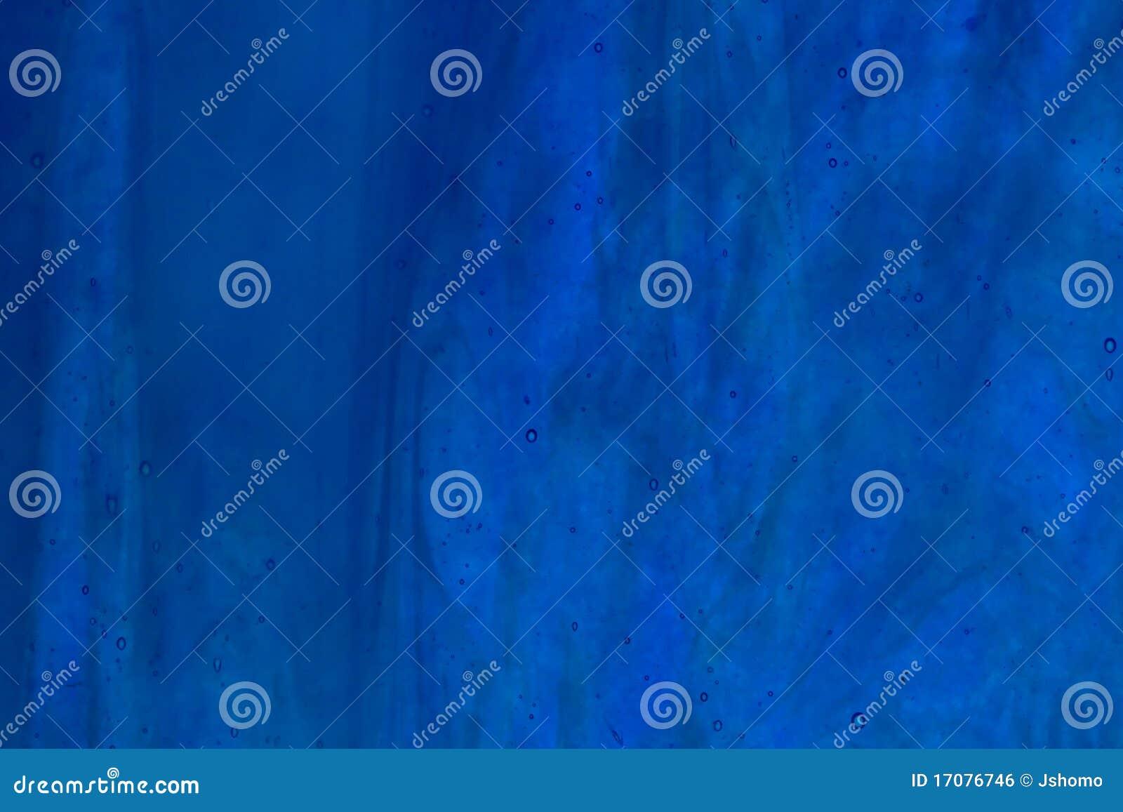 Blaues unterschiedliches des Buntglases