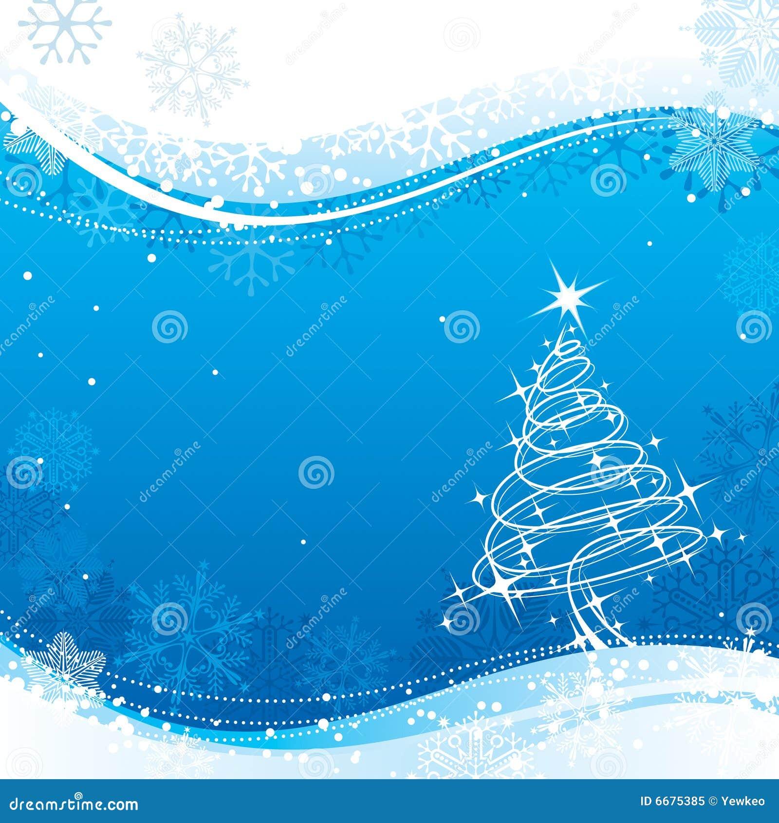 Blaues Weihnachten