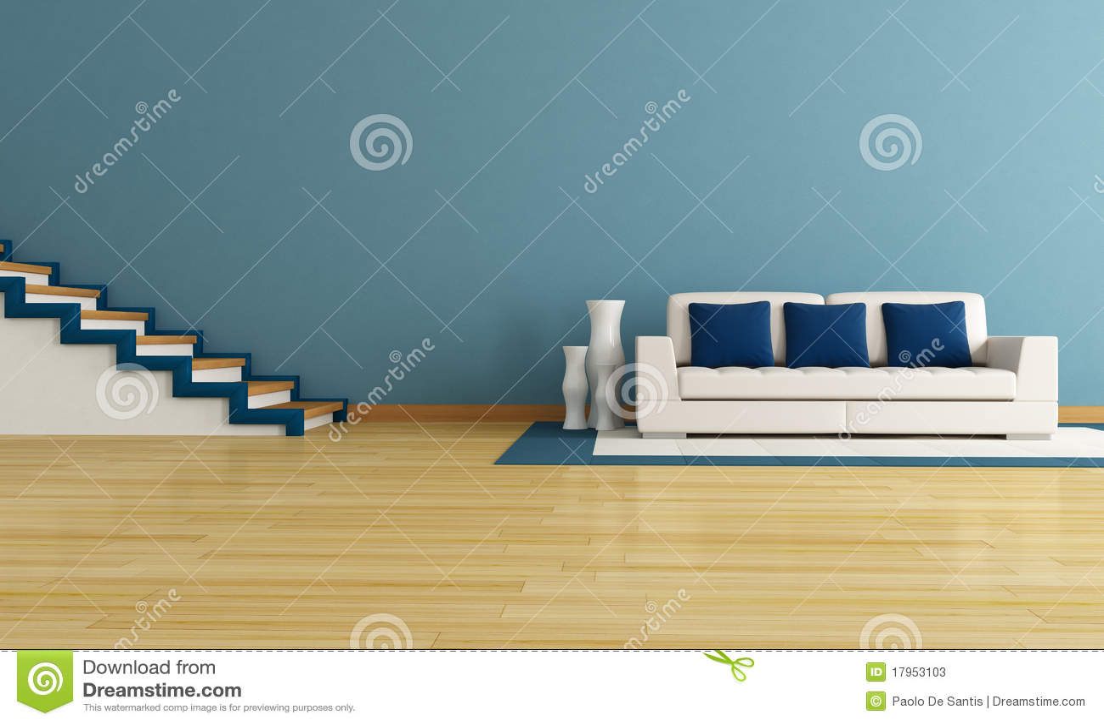 Wohnzimmer blaues sofa – midir
