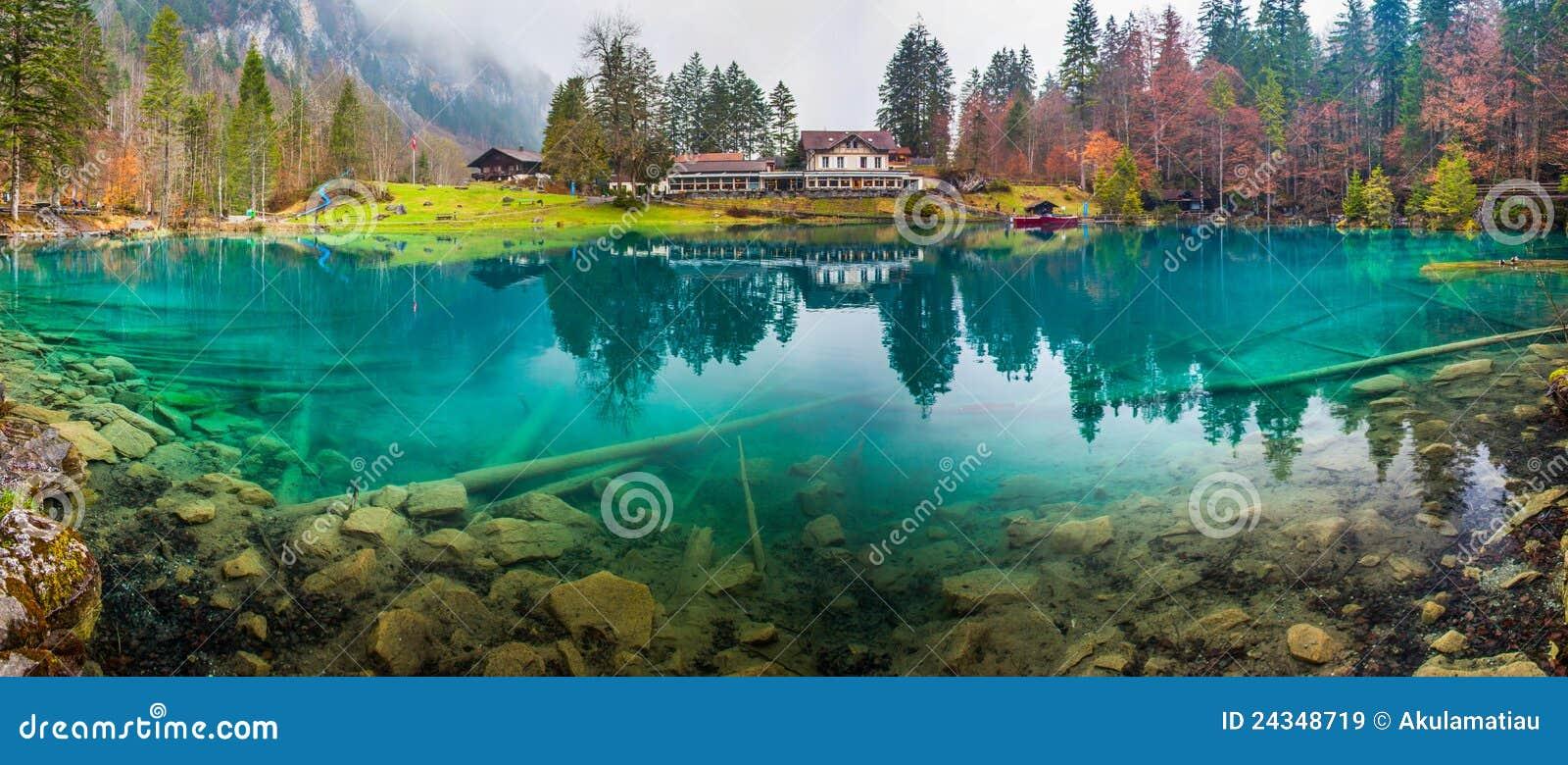 Blausee, Switzerland - Hotel Forellenzucht