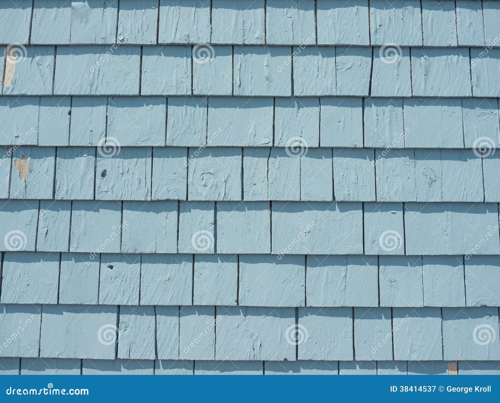 Blauw Cedar Siding