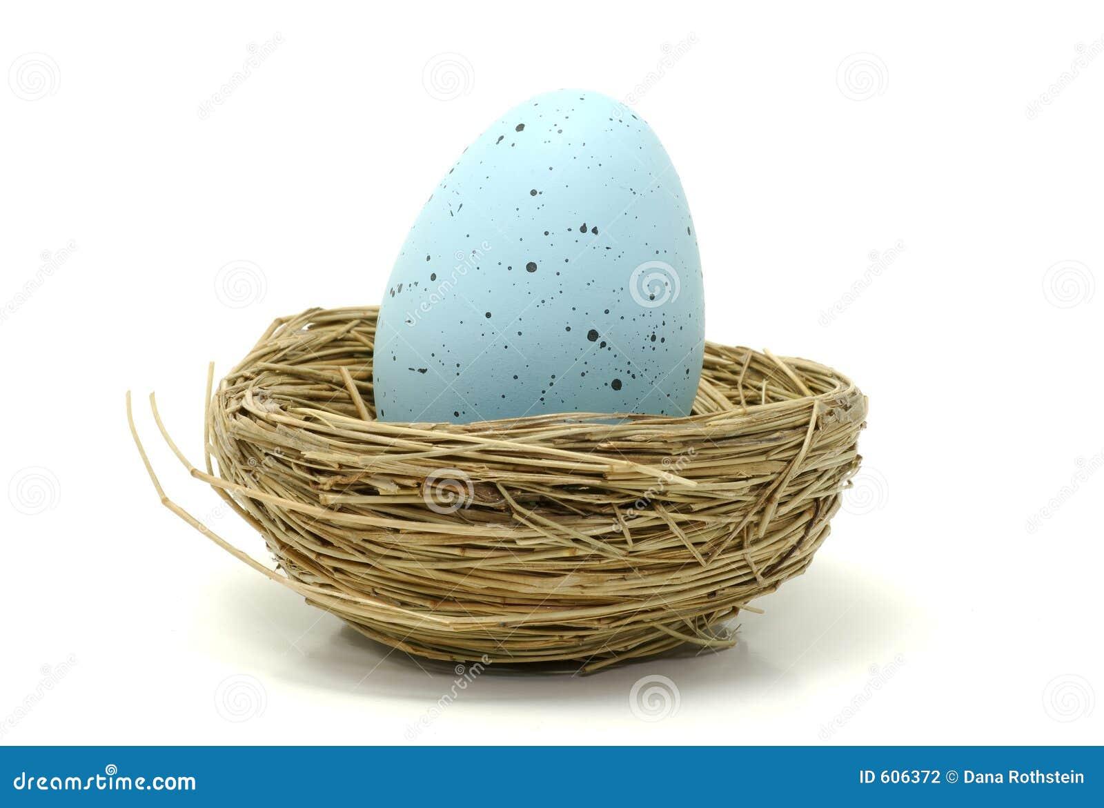 Blauw Ei