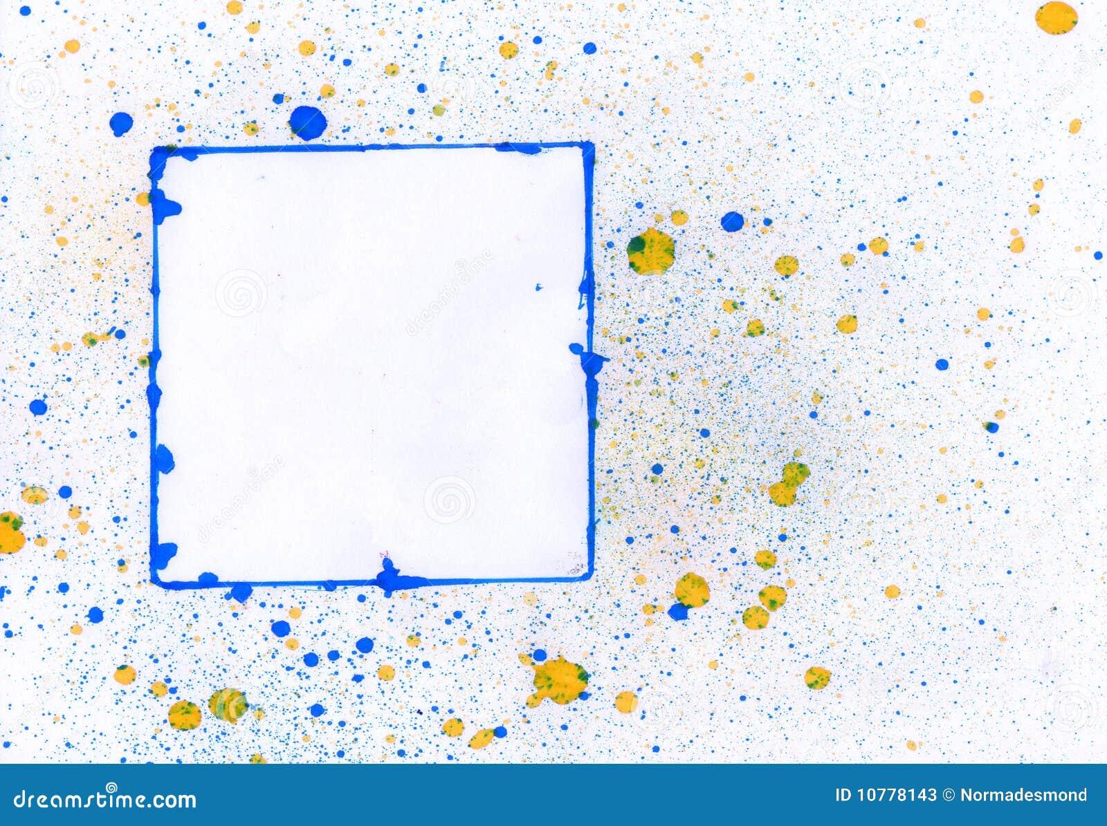 Blauw frame