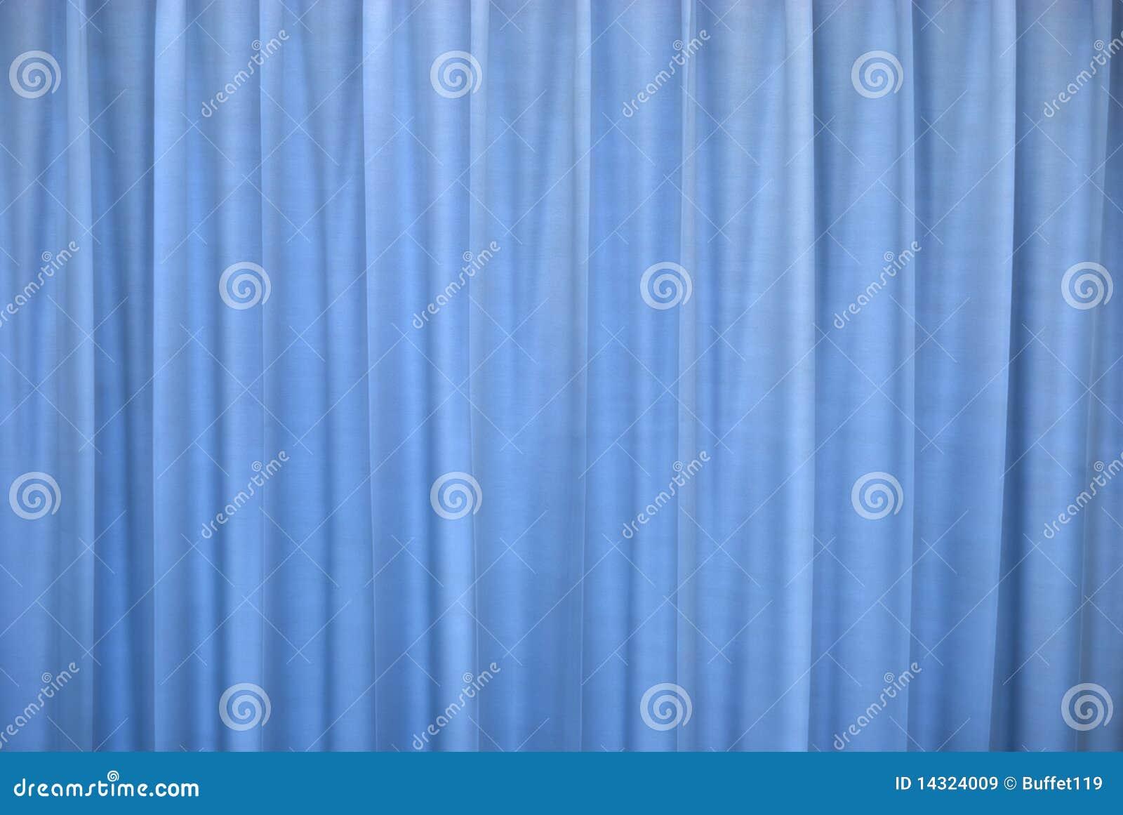 Blauw gordijn royalty vrije stock afbeeldingen afbeelding 14324009 - Gordijn blauwe eend ...