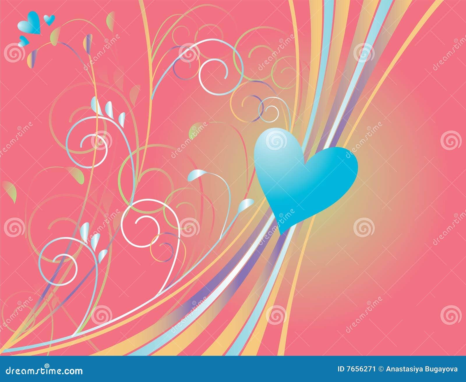 Blauw hart
