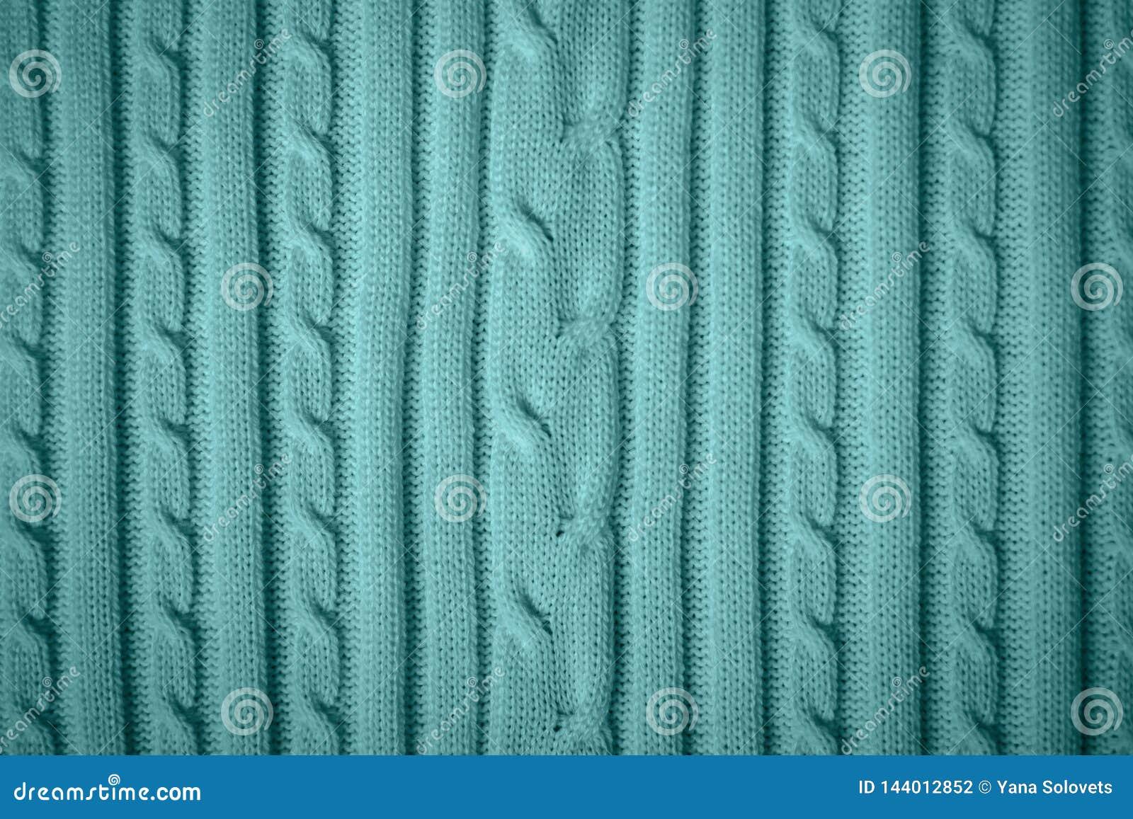 Blauw katoenen patroon