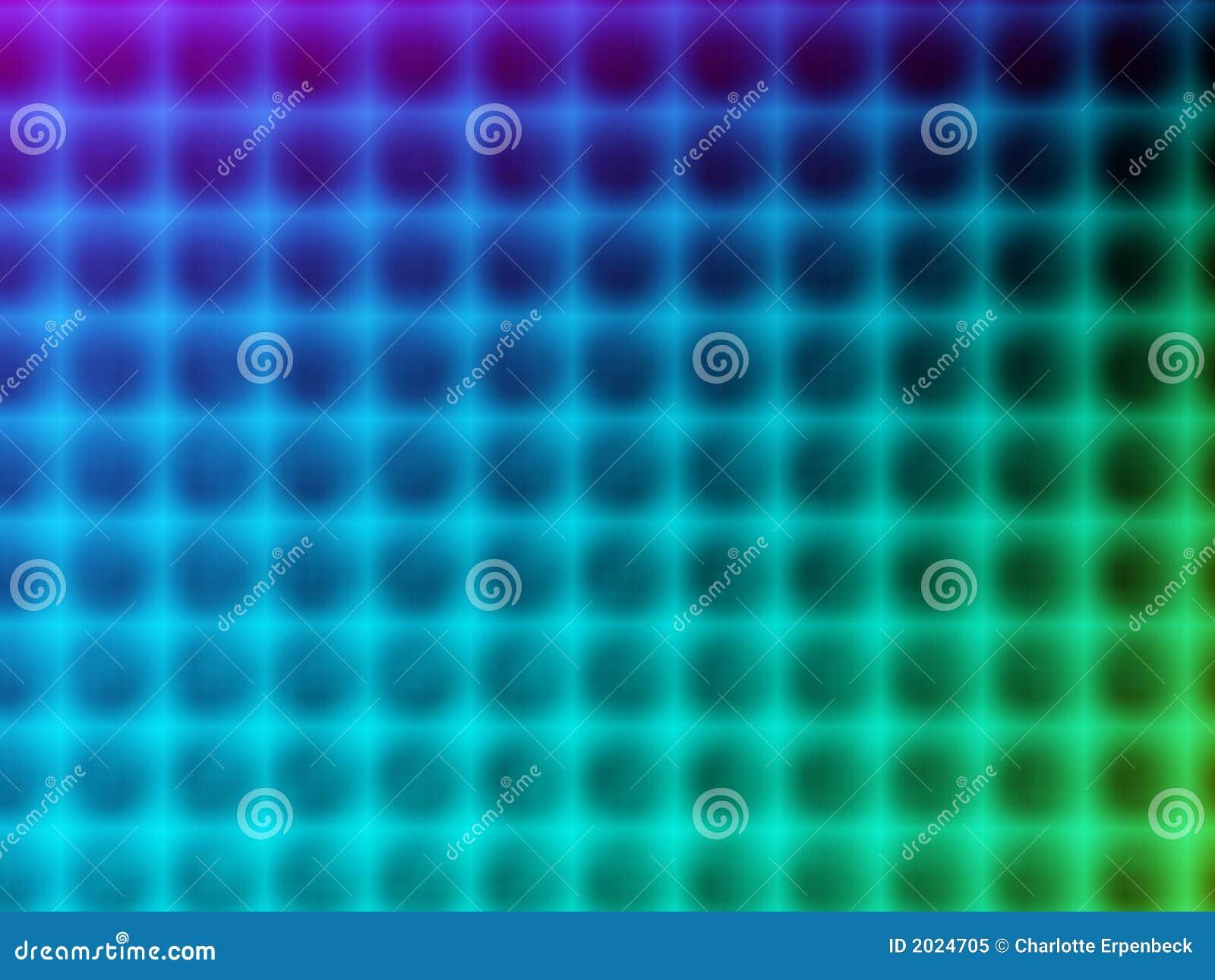 Blauw kleurenspectrum