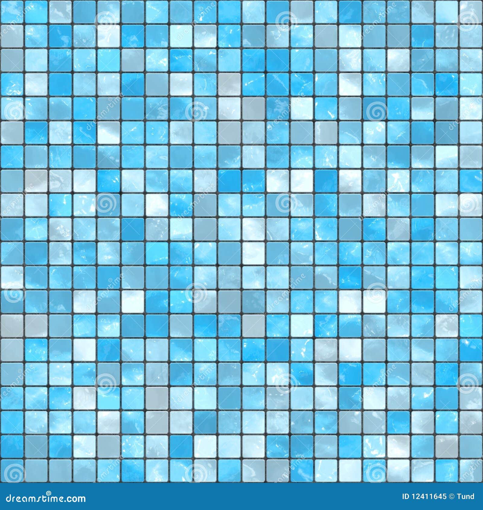 Blauw moza ek royalty vrije stock foto afbeelding 12411645 - Mozaiek blauwe bad ...