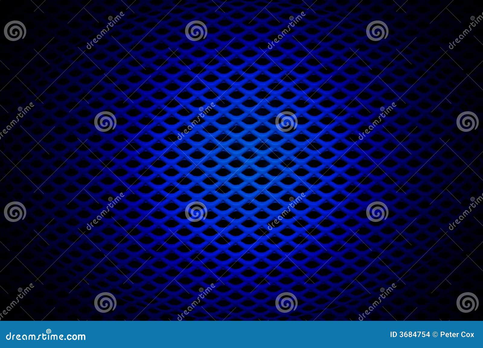 Blauw Traliewerk