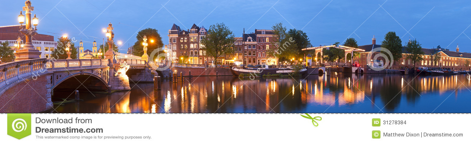 Blauwbrug, Άμστερνταμ