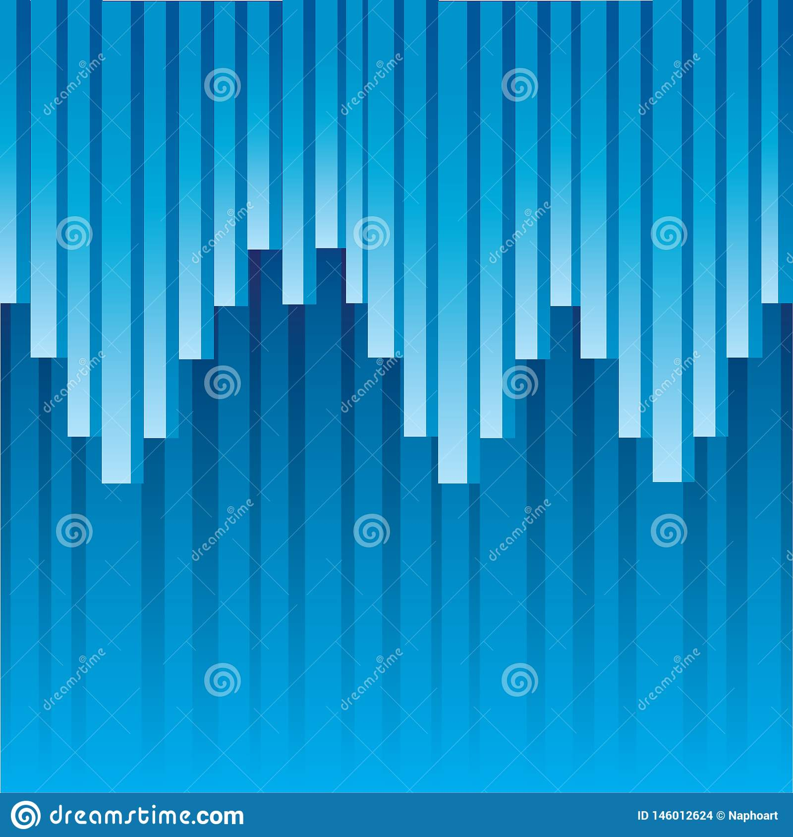 Blauwe abstracte vectorillustratie als achtergrond
