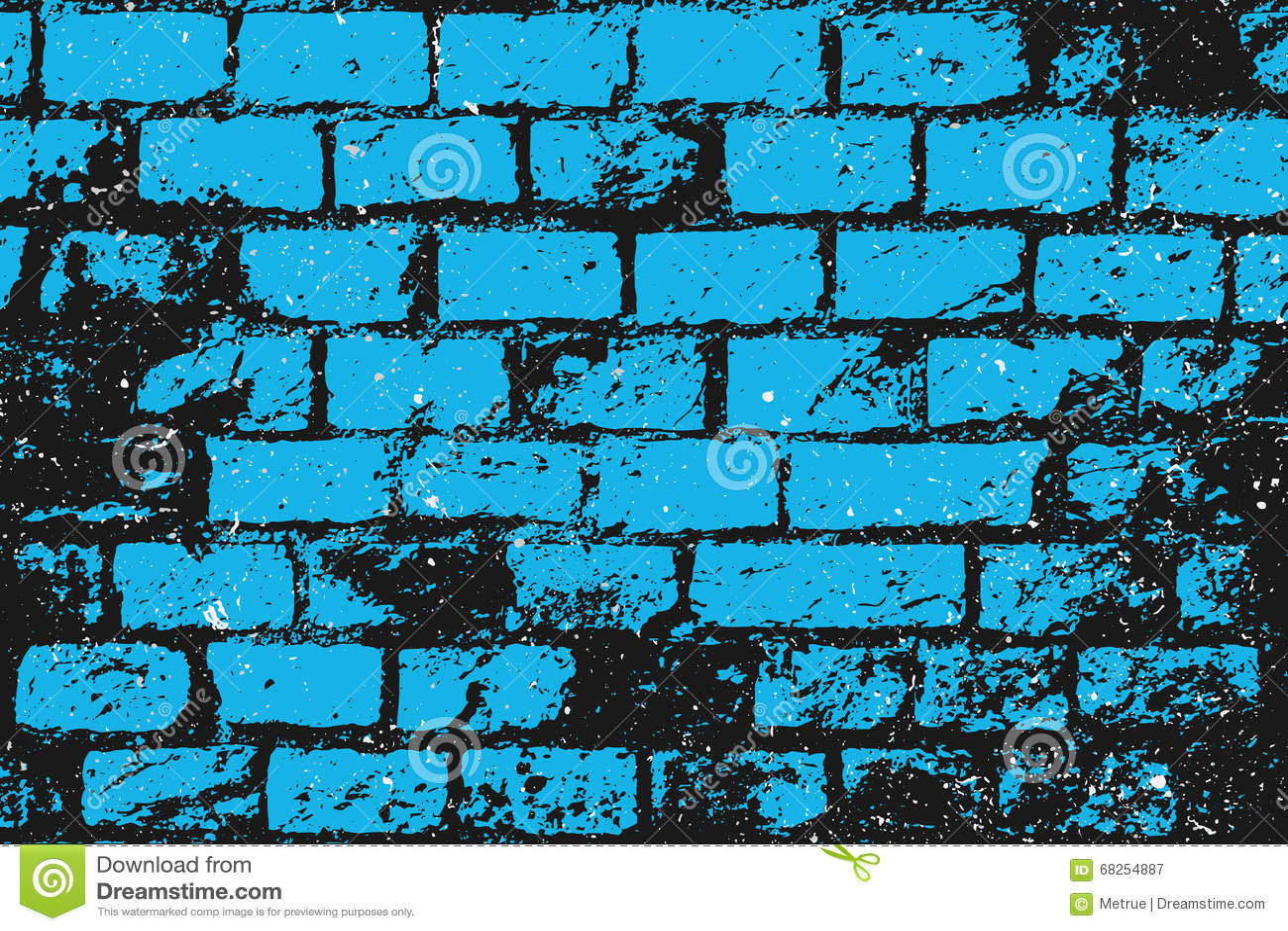 Blauwe bakstenen
