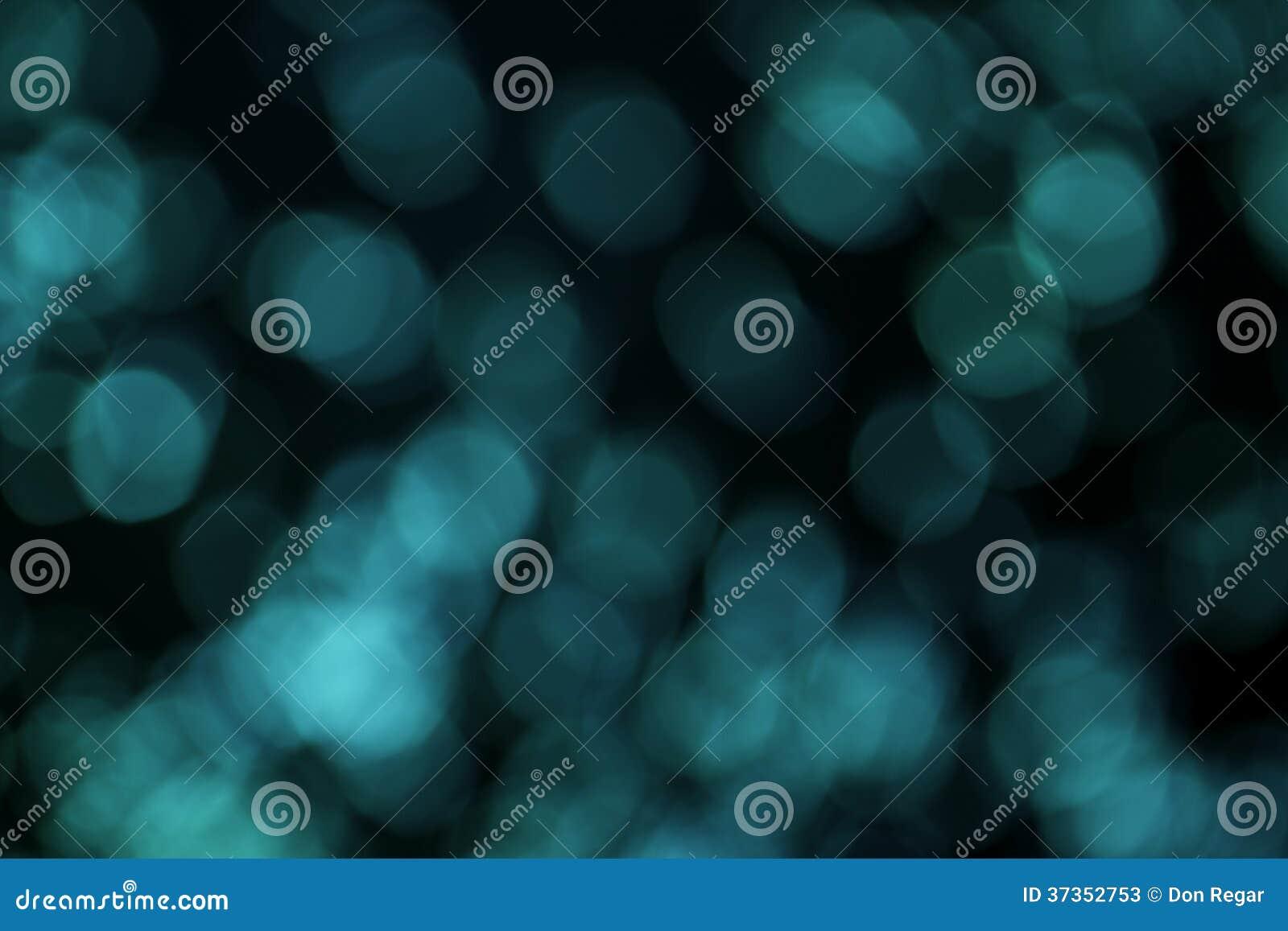 Blauwe Bokeh-Achtergrond