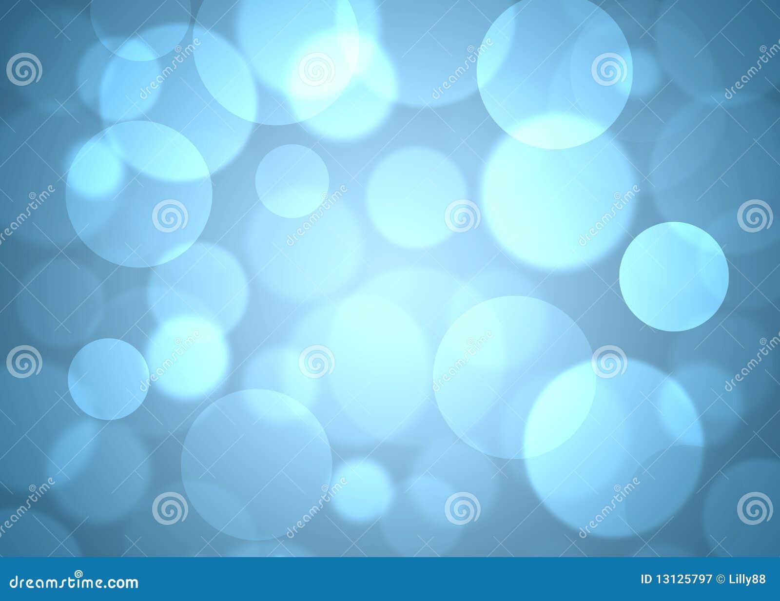 Blauwe cirkels abstracte achtergrond