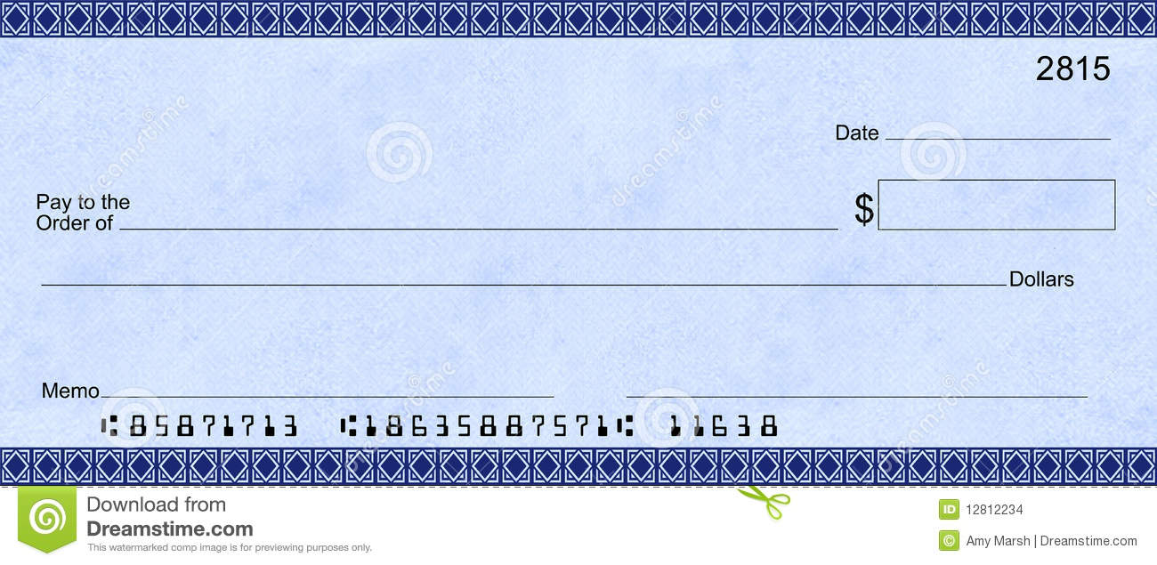 Giant Check Template. free printable checks template best idea ...
