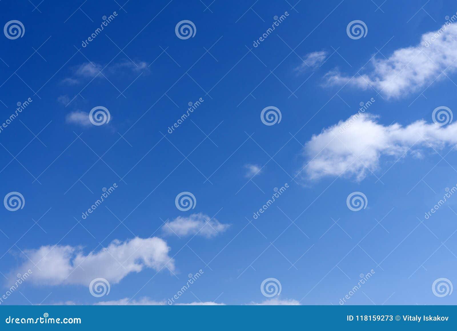 Blauwe de vochtigheids in openlucht bewolking van de golvend patroonmeteorologie