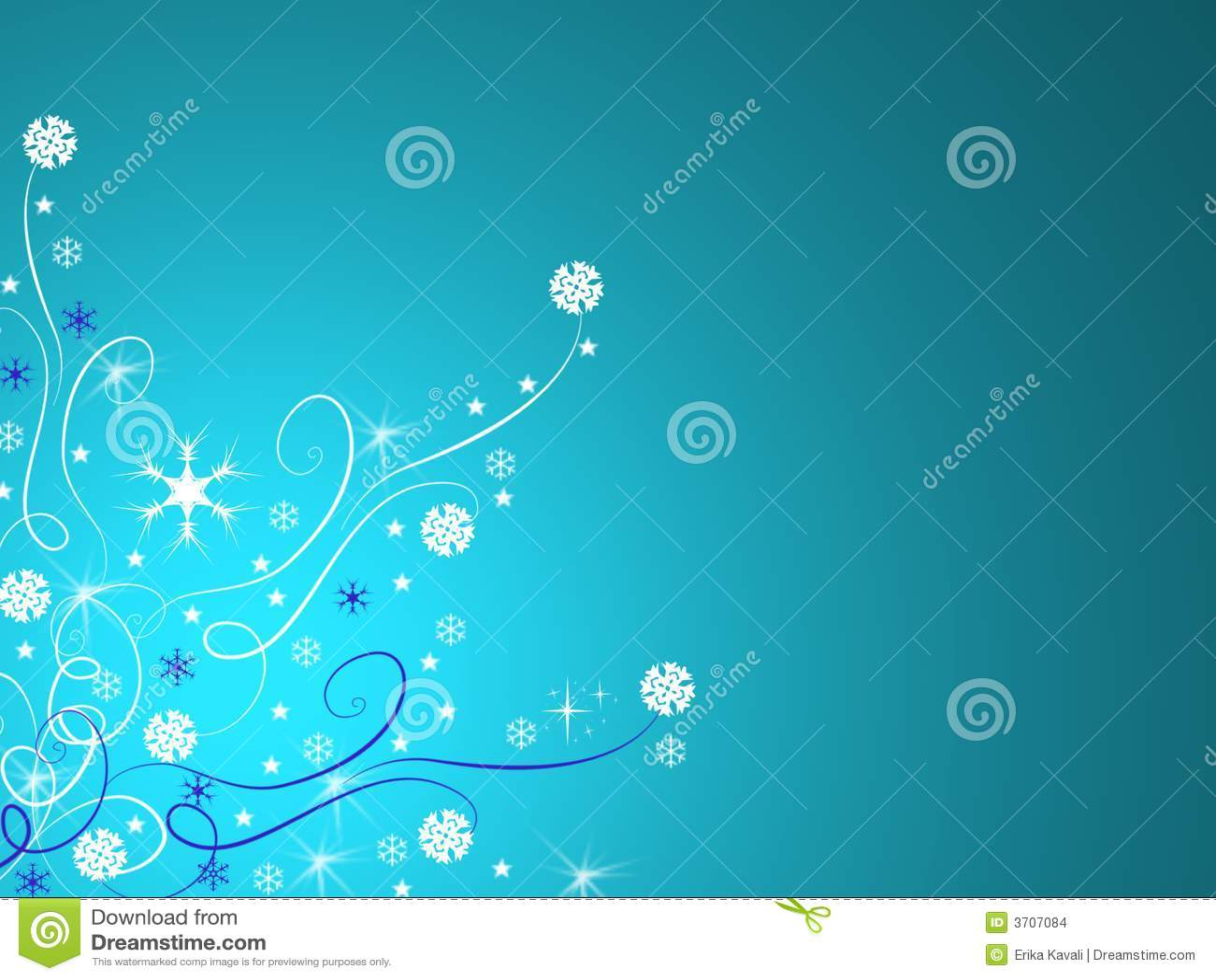Blauwe de winterachtergrond