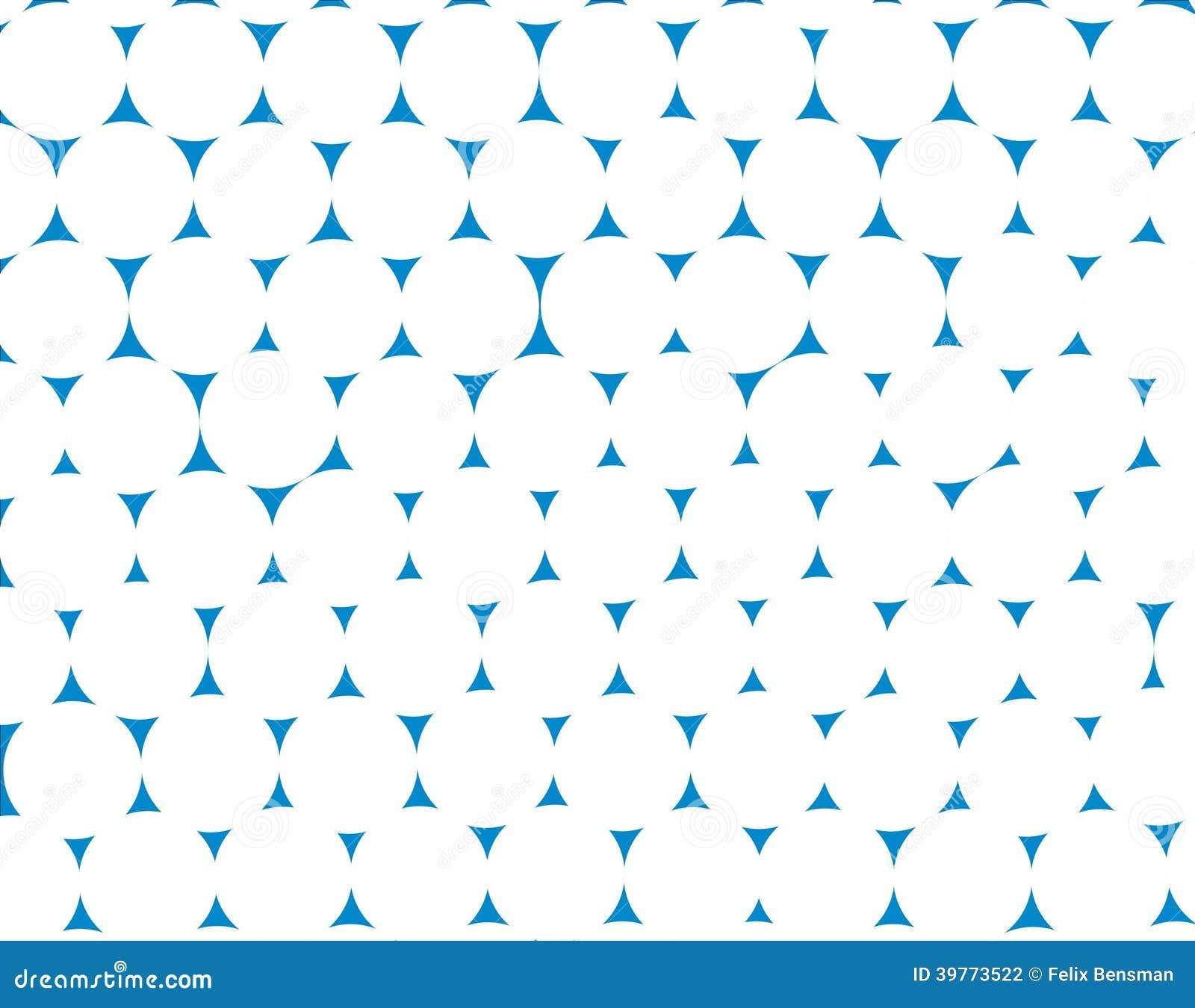 Blauwe en witte patroonachtergrond