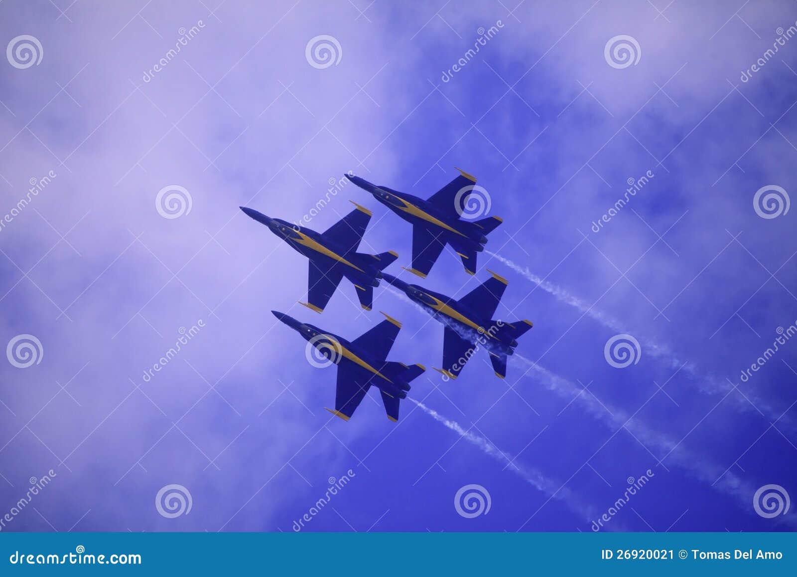 Blauwe Engelen in Kaneohe Airshow