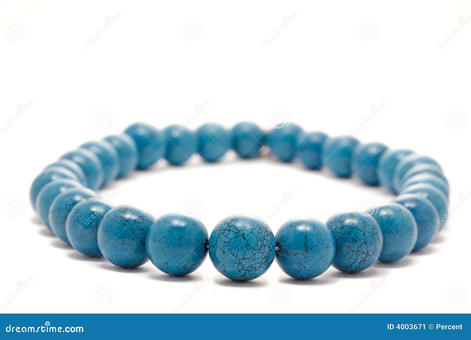 Blauwe halsband